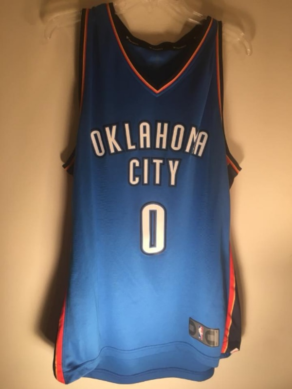 ecc1b194278 Used Russell Westbrook OKC Thunder NBA Jersey for sale in Fayetteville -  letgo