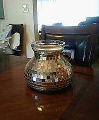 brown glass shade table lamp Kennewick, 99337