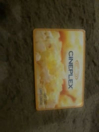 Cineplex gift card Winnipeg, R3J 3L2
