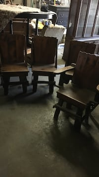 Four Rustic cottage chairs $150 Hamilton, L8H 5Z4