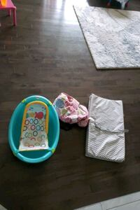 Baby bath, shopping cart cover and change pad  Edmonton, T6V 0L9