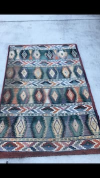and brown floral area rug