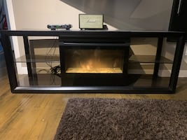 Electric fire place and heater
