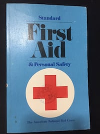 1973 Edition Standard First Aid & Personal Safety Handbook Baton Rouge, 70816