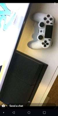 Ps4 with headset and controller