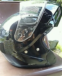 black and gray motorcycle helmet Kingsport, 37663
