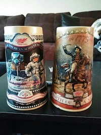 Miller collectable christmas beer mugs Redding, 96002