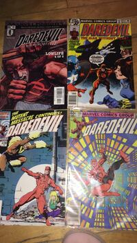 four Marvel Spider-Man comic books Montreal, H3W 2E7