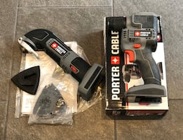 Porter Cable 18V Drill and Oscillating Multi Tool
