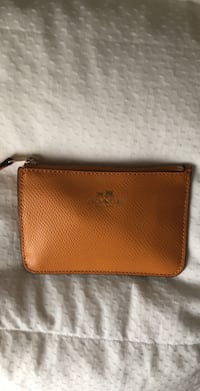 Brown coach leather wristlet Fallston, 21047