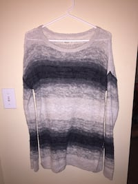 gray and black scoop-neck sweater Palm Coast, 32164