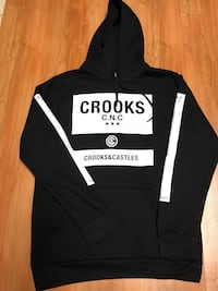 Brand new crooks and castles hoodie  Surrey, V3T