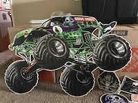 Monster Jam wood wall decor San Diego, 92117
