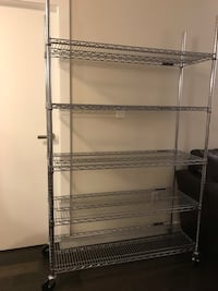 47.5 inches wide metal wire shelf unit (pick up only) North Vancouver, V7P