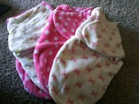 baby's pink and white floral print swaddle Silver Spring, 20904