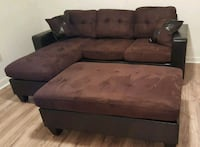 Brand New Brown Microfiber Sectional Sofa Couch  Silver Spring, 20902