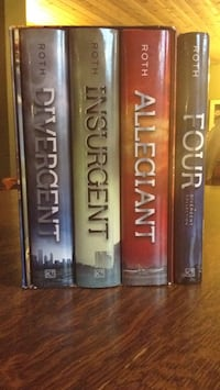 Divergent book series. (Includes Four)