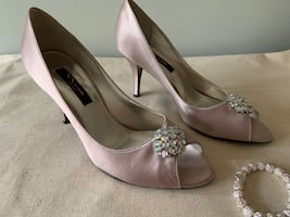 Prom Bridal Party Shoes 9 1/2M