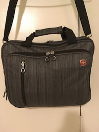 Swiss gear laptop bag ( never used ) padded compartment for your laptop, multiple zippered compartments and a removable shoulder strap.  * multiple zippered compartments * removable shoulder strap .length 11.8 ..width 15.7..retail value 79.99..