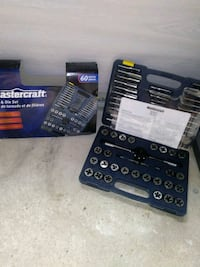 MASTERCRAFT TAP AND DIE SET//TARAUDS ET FILIERES// Châteauguay