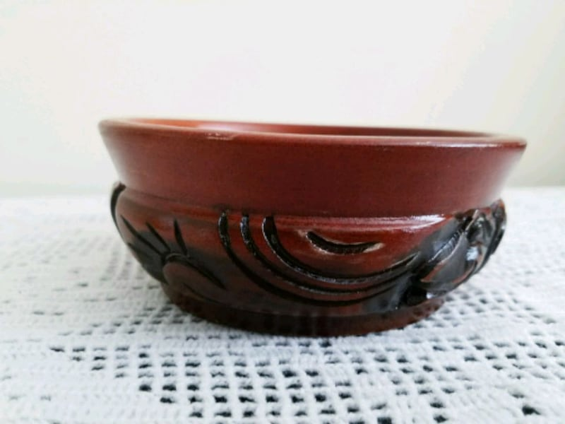 Hand Carved wood bowl accessories plate home decor cc866627-cd5b-4cdf-9831-8274c5a36767