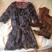 NEW AERIE PAISLEY DRESS