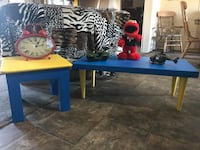 """Combo Two Tables for $25  SOLID WOOD """"NOT"""" plastic  Refinished  Choctaw, 73020"""