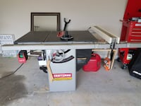 Craftsman Professional Hybrid Table Saw 978 mi