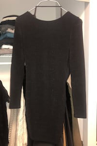 Shimmery black cocktail dress size SMALL Toronto, M5A 3N1