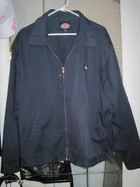 Dickies Navy Blue Eisenhower Unlined Twill Work Jacket - Size XL  Winnipeg