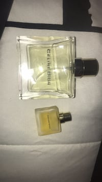 Celine dion perfume set large and mini bottle Guelph, N1E