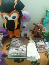 Stuffed animals,doll,books Zanesville, 43701