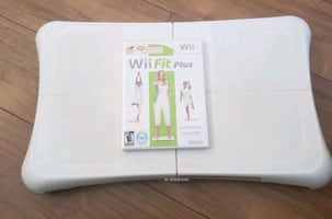 Wii Fit Balance Board and Wii Fit Plus Game