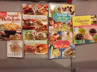 $5 Each, assorted new cook books Toronto, M9M 2P4