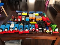 Thomas train table set motorize with tracks and more