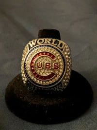 Chico Cubs World Series ring