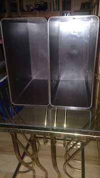 Two heavy plastic storage ubits.  It is sold as one piece. Lutherville Timonium, 21093