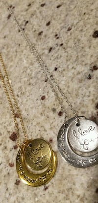 """""""I love you to the moon and back"""" necklace Gaithersburg, 20877"""