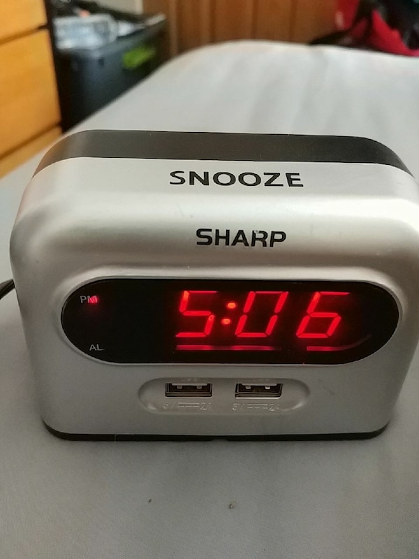 Sharp Alarm Clock