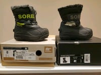 Sorel children boots snow commander