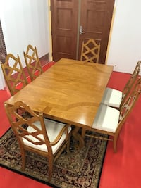 Fabulous Thomasville Dining Table With 6 Chairs (Delivery Service Available) Boynton Beach, 33436