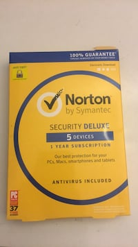 Norton Antivirus Security Deluxe 5 Devices 1Year Subsribtion