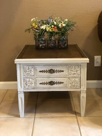 Antique farmhouse style side table or nightstand  Salida, 95368