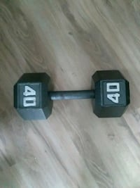 40 lbs dumbell Troy, 12180