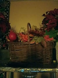 red and green flower arrangement Bristow