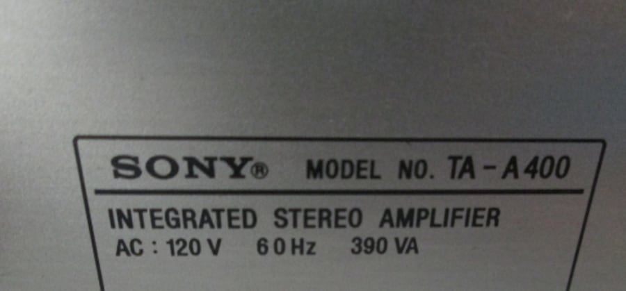 Sony AM/FM Stereo Tuner ST-J300 + Integrated Stereo ed051c1a-1dee-4bc1-8413-b1757d63c6ba