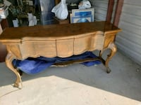 Walnut Buffet, side table antique Simi Valley, 93063