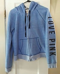 Large blue PINK hoodie Rochester