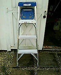 white and blue metal ladder Delaware, 43015