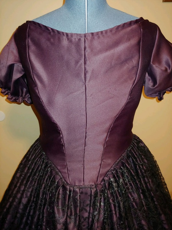 Handmade Civil War Ballgown 1